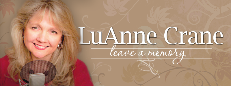 Leave a message or share a memory of LuAnne Crane